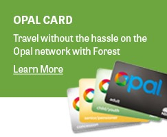 Travel with ease with an Opal Card
